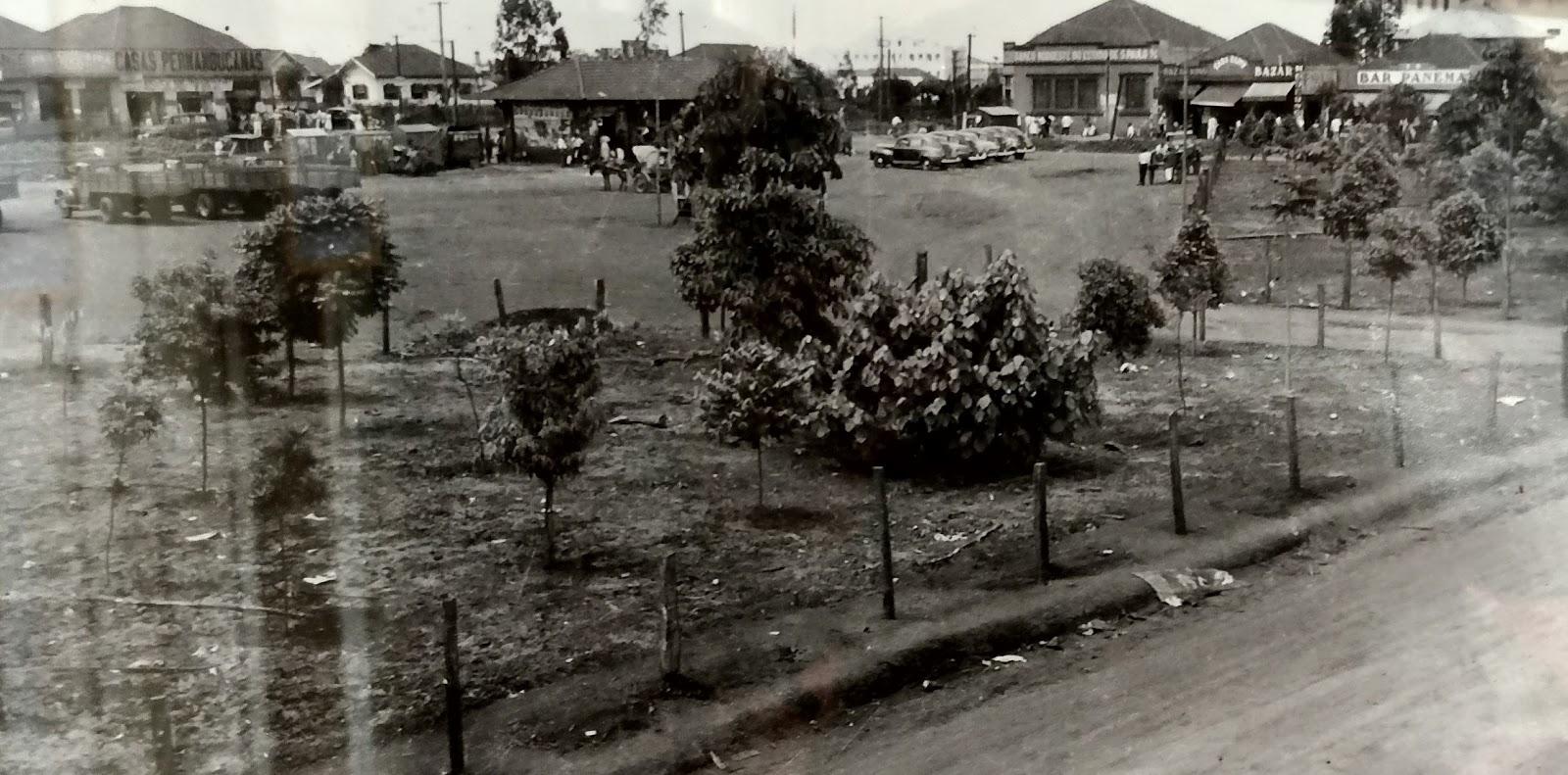 Praça da Rodoviária - 1952