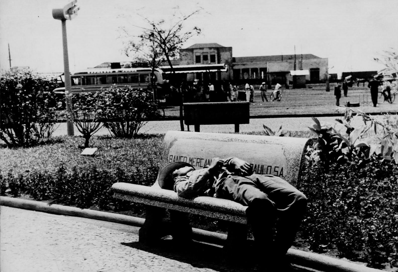 Estação Ferroviária de Maringá - 1957