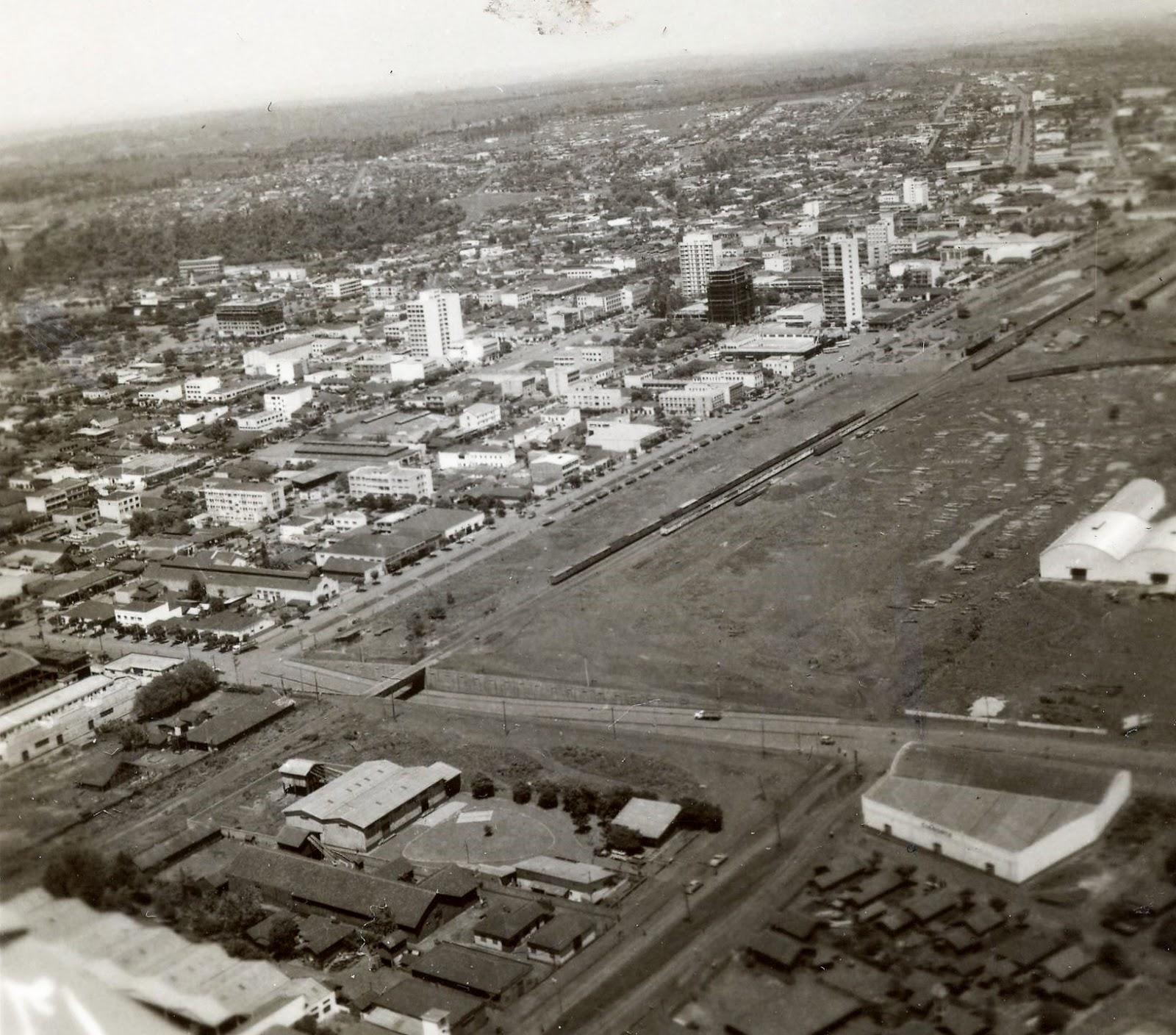 Avenida São Paulo x Avenida Tamandaré - Década de 1960