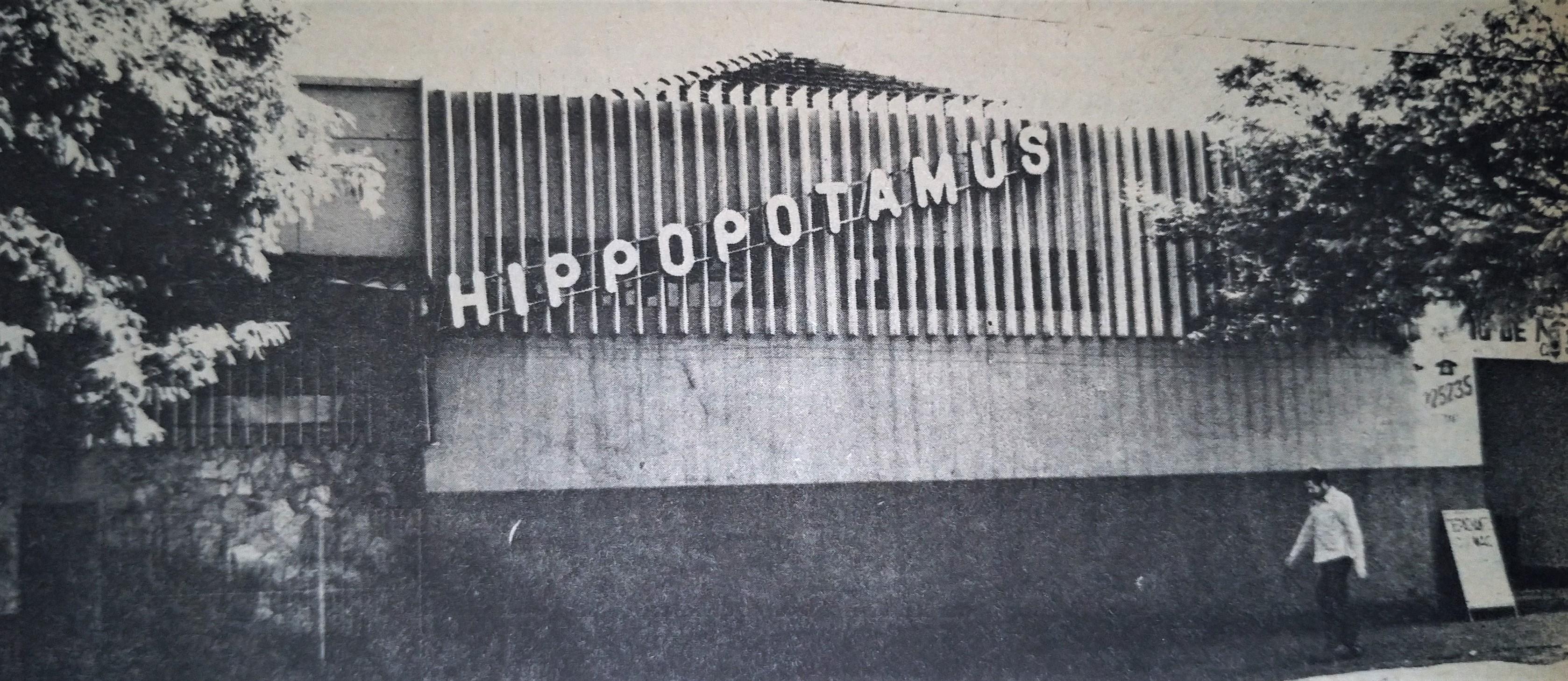 Boate Hippopotamus é fechada - Junho de 1978