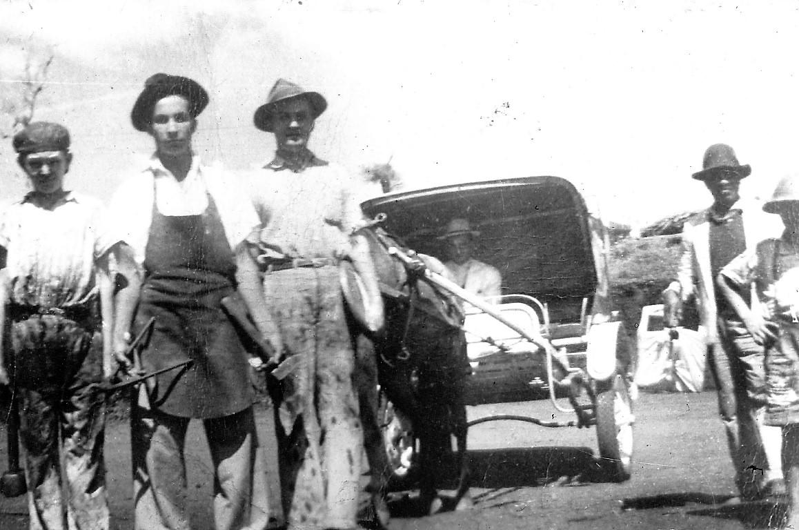 Charrete em 1950