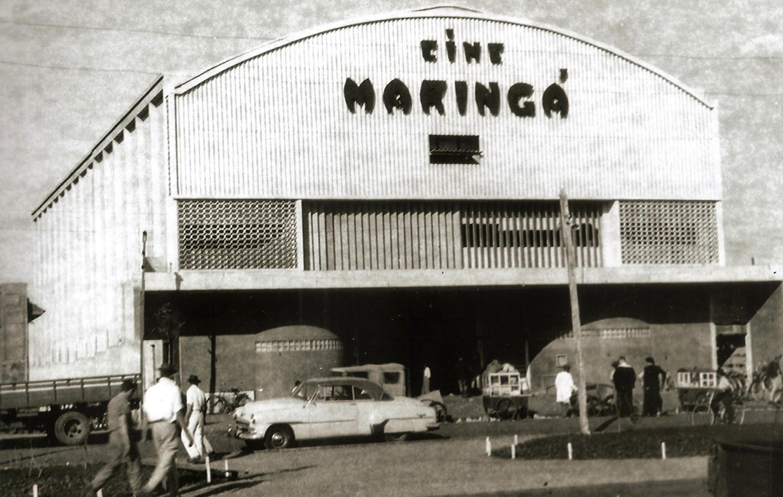 Cine Maringá - 1953