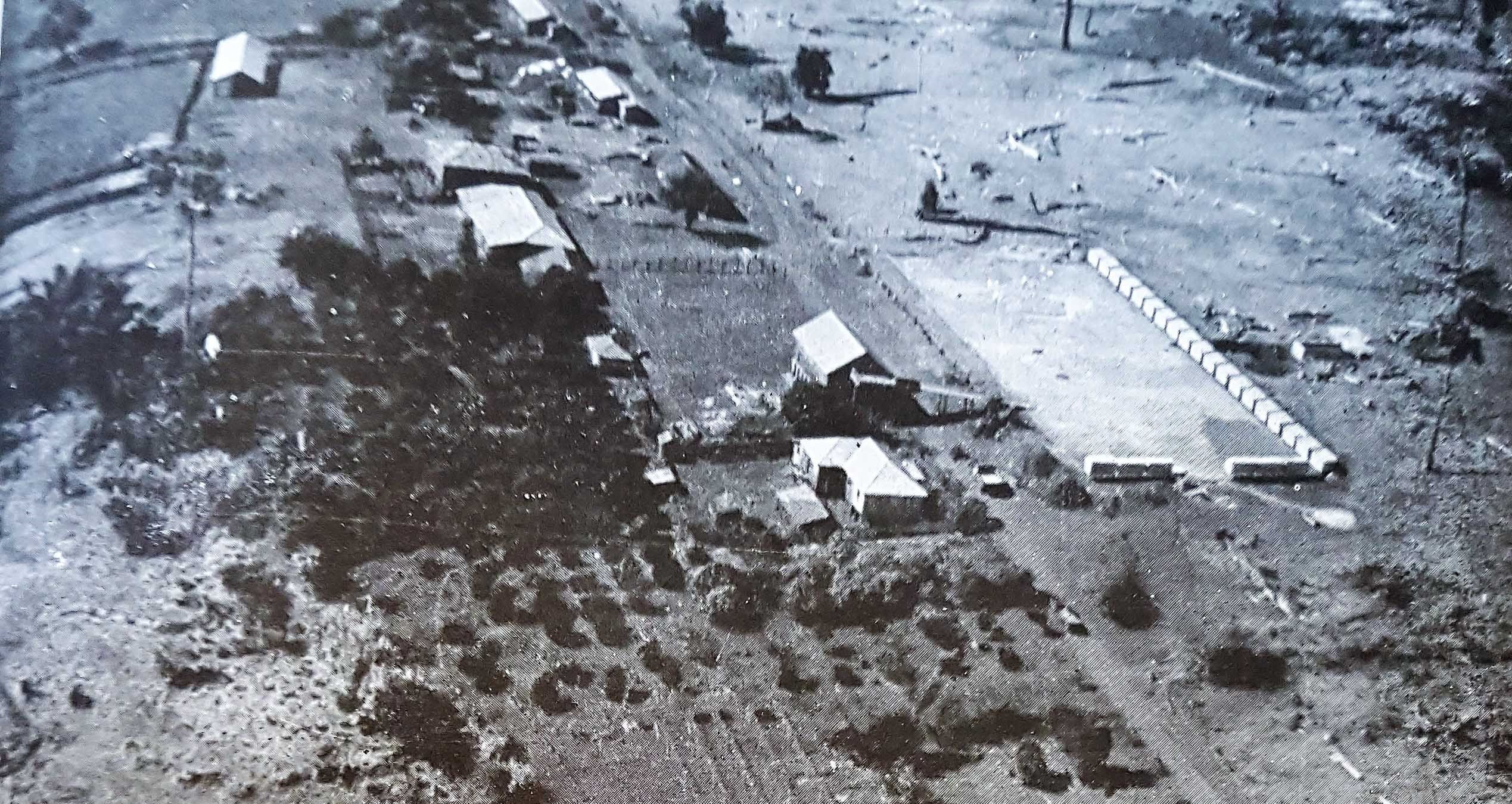 Fazendas na Zona Rural de Maringá - Anos 1950