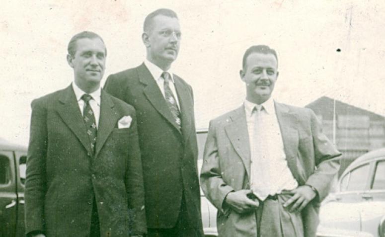 Posse de vereadores - 1952