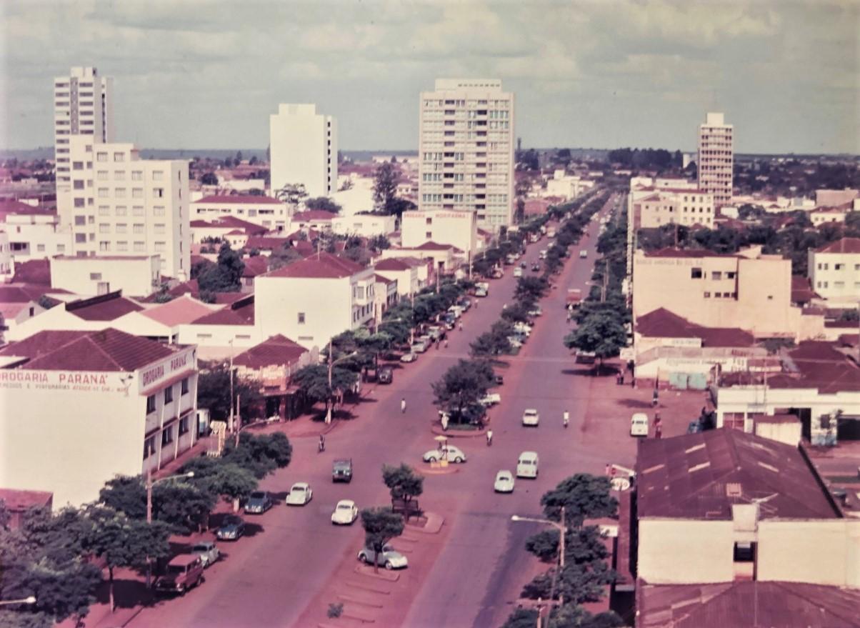 Avenida Brasil - Início da década de 1970