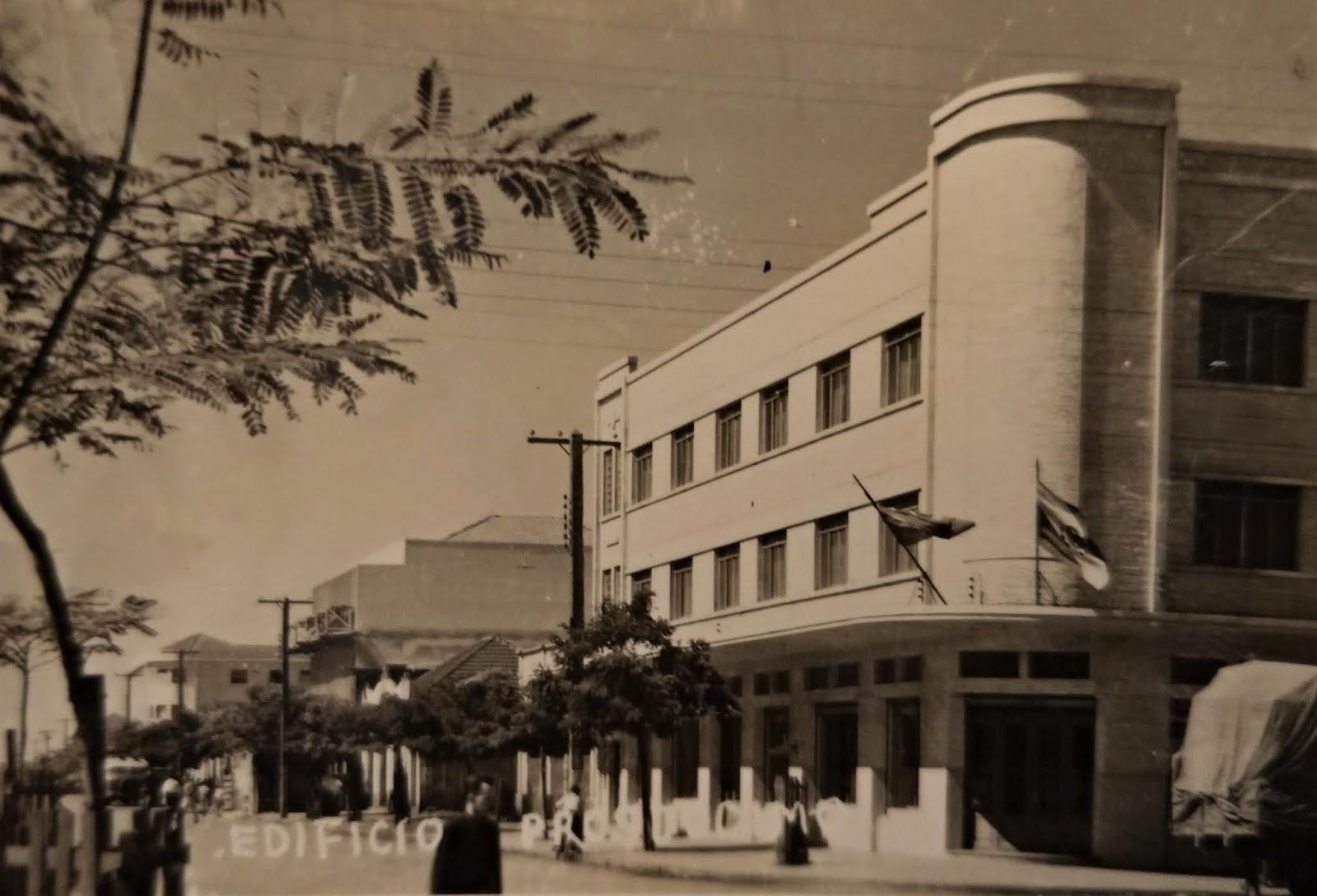 Rua Santos Dumont - Década de 1950