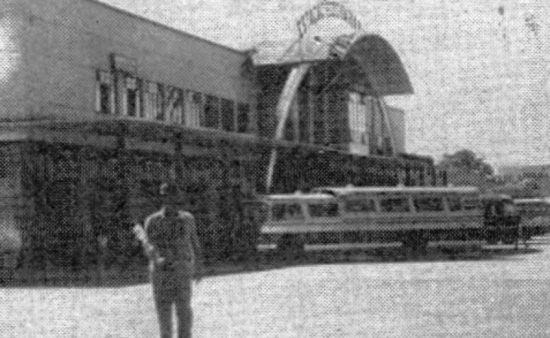 Rodoviária Municipal de Maringá - Década de 1960