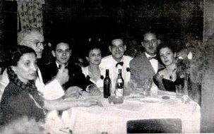 Baile no Aero Clube de Maringá - 1949