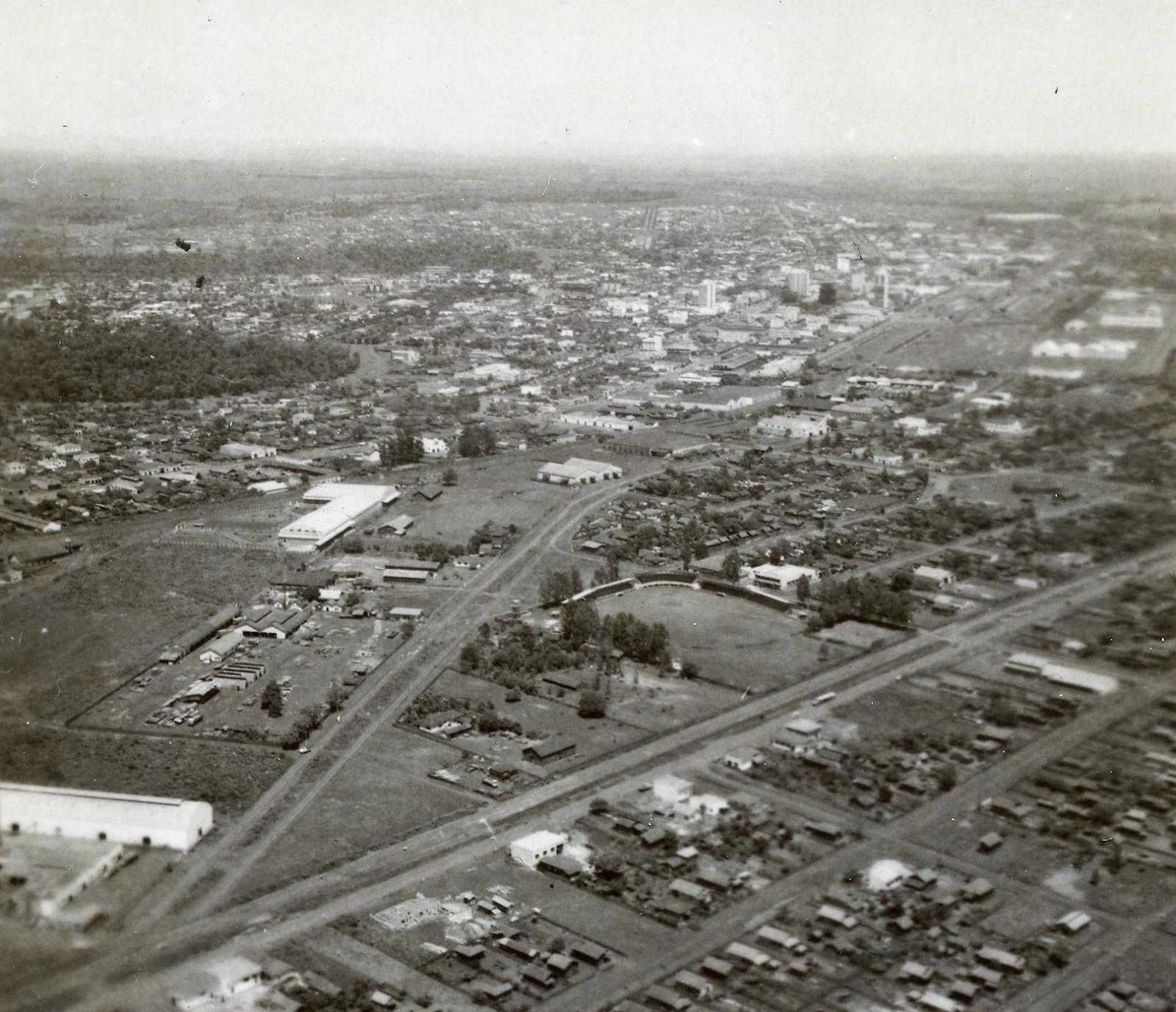 Avenida das Indústrias x Avenida Colombo - Década de 1960