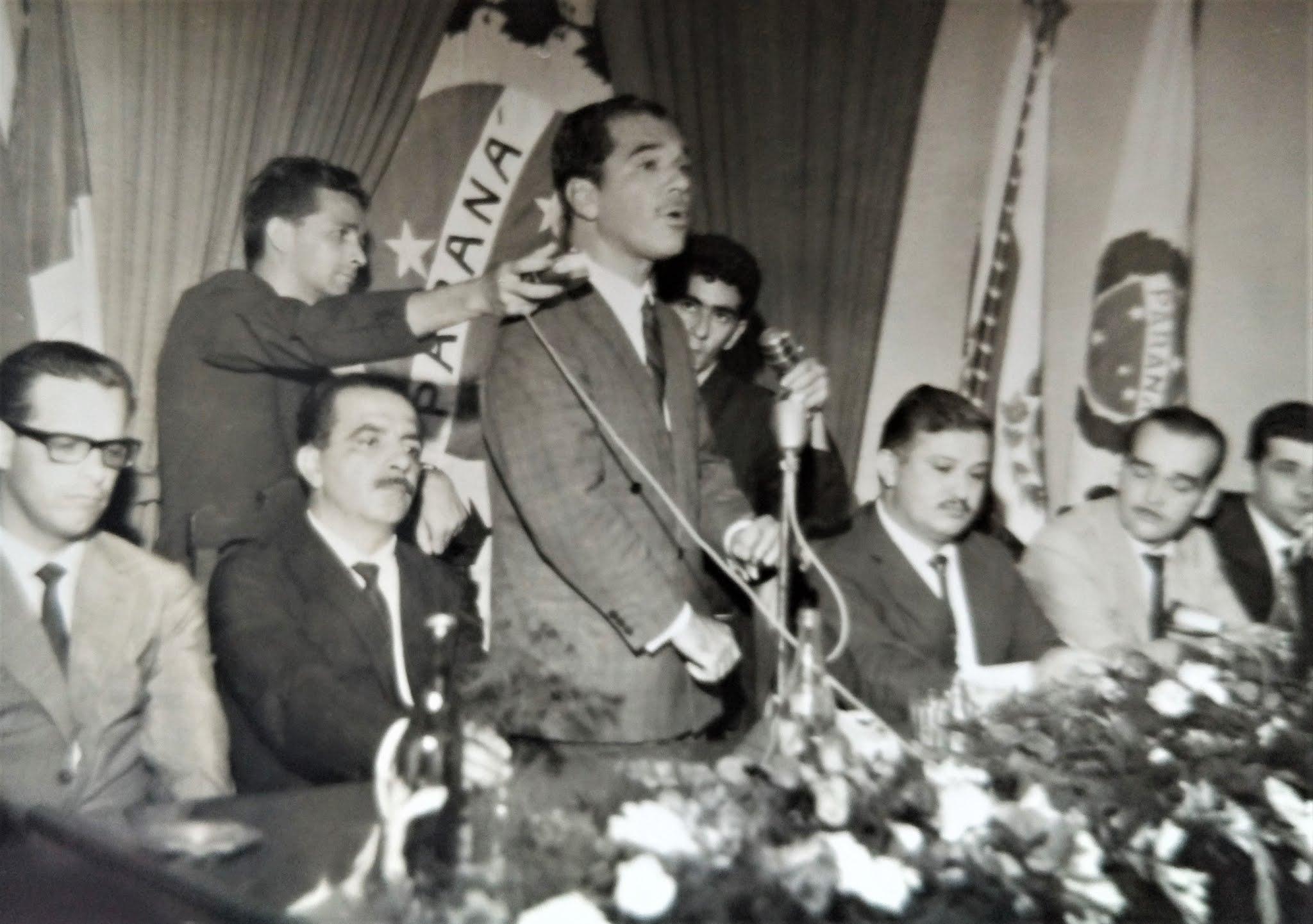 Ney Braga na Câmara de Maringá - 1965