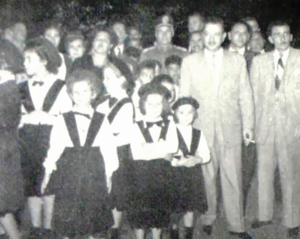 Ginásio Maringá - apresentações ao Governador - 1953