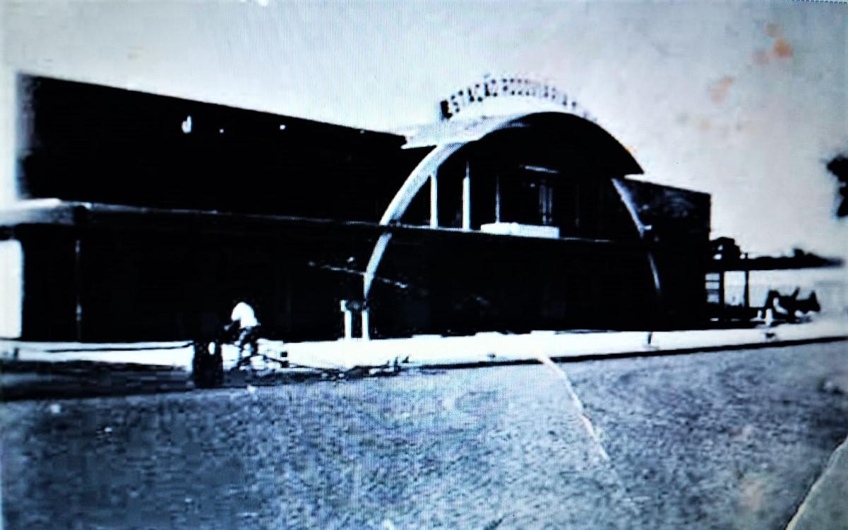 Obras da Estação Rodoviária - Década de 1950