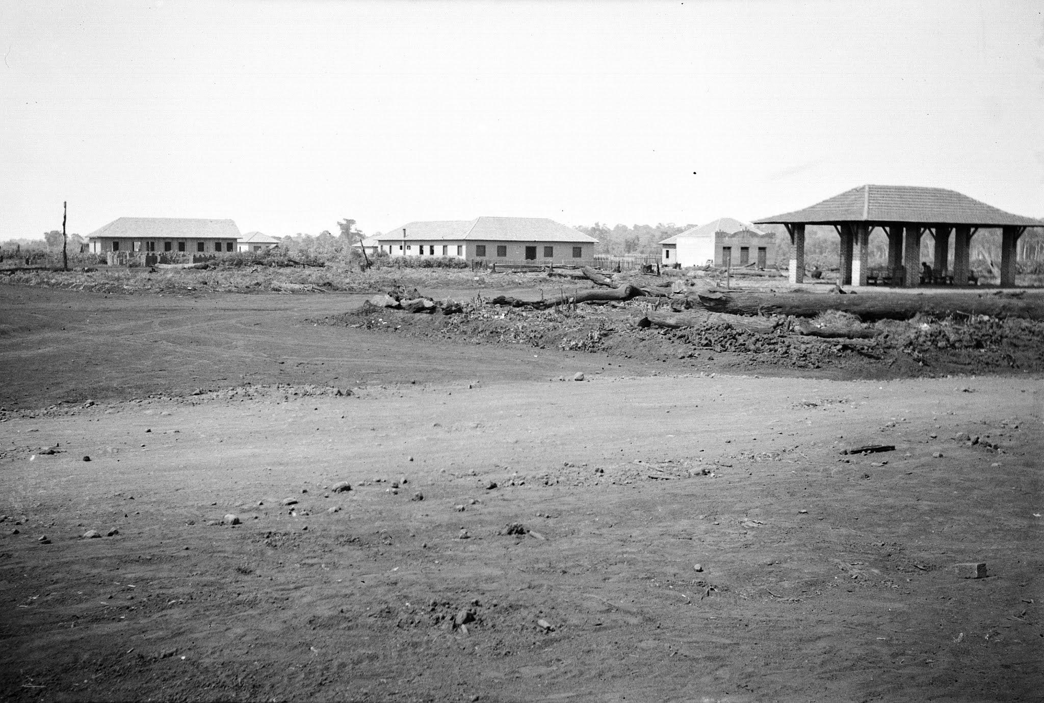 Praça da Rodoviária - Anos 1940