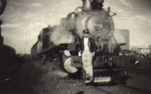 Estação Ferroviária - Final dos anos 1950