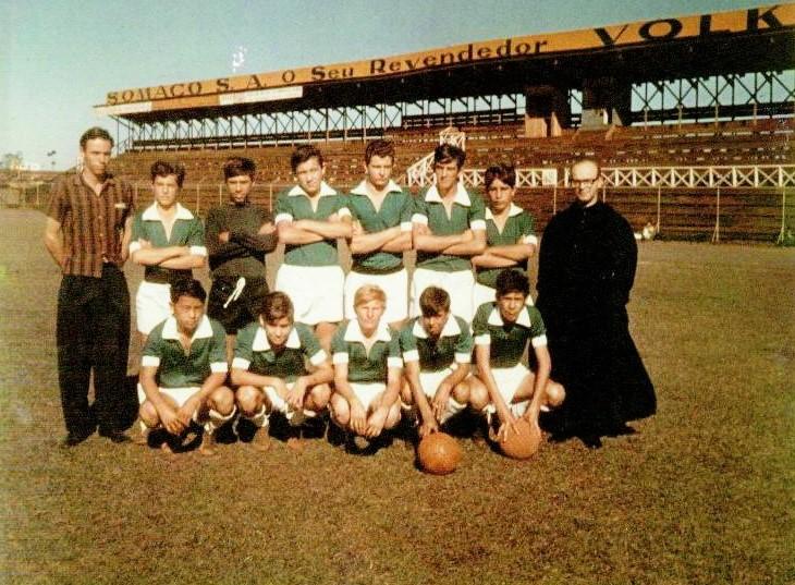 Palmeirinhas no Estádio Willie Davids - Década de 1960
