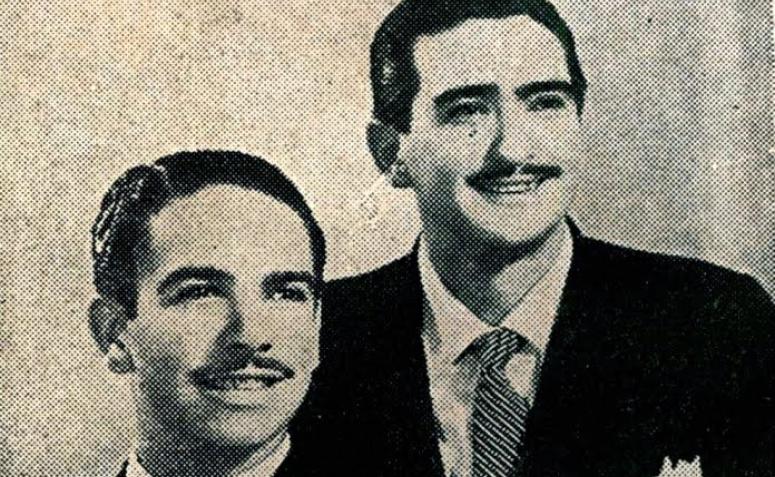 1º dupla de violeiros da Rádio Cultura de Maringá