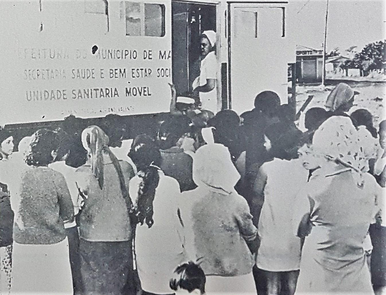 Unidade Sanitária Móvel - 1972