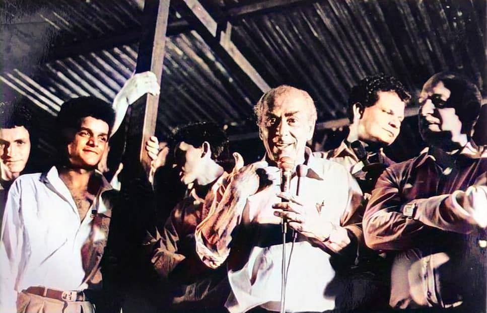 Comício de Leonel Brizola - 1989