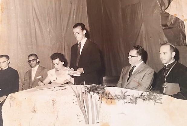 Formatura do Colégio Estadual Gastão Vidigal - 1962
