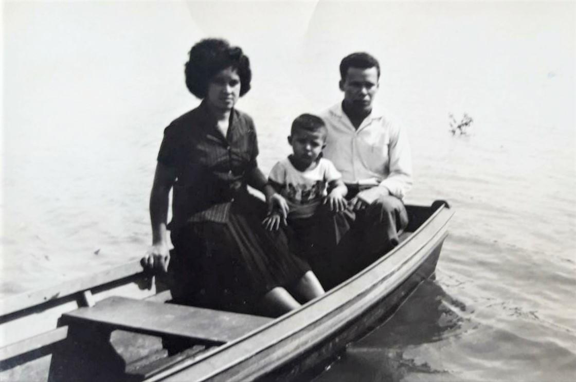 Represa do Vale Azul - 1965