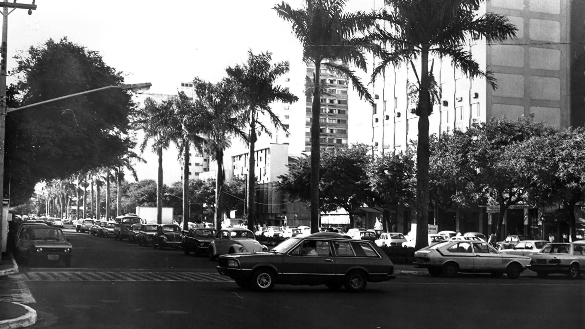 Avenida Getúlio Vargas - Anos 1980