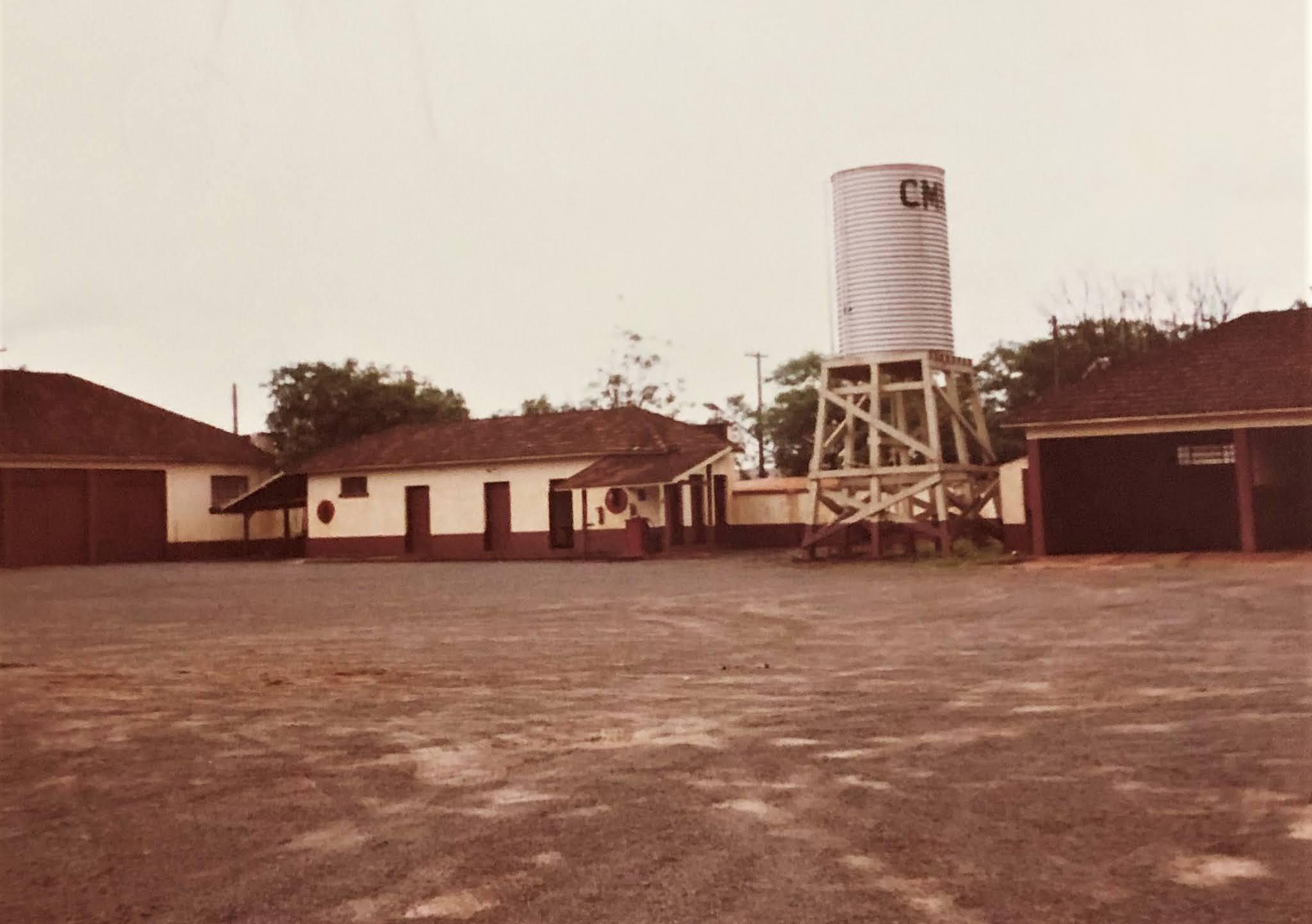 Pátio da CMNP - Anos 1980