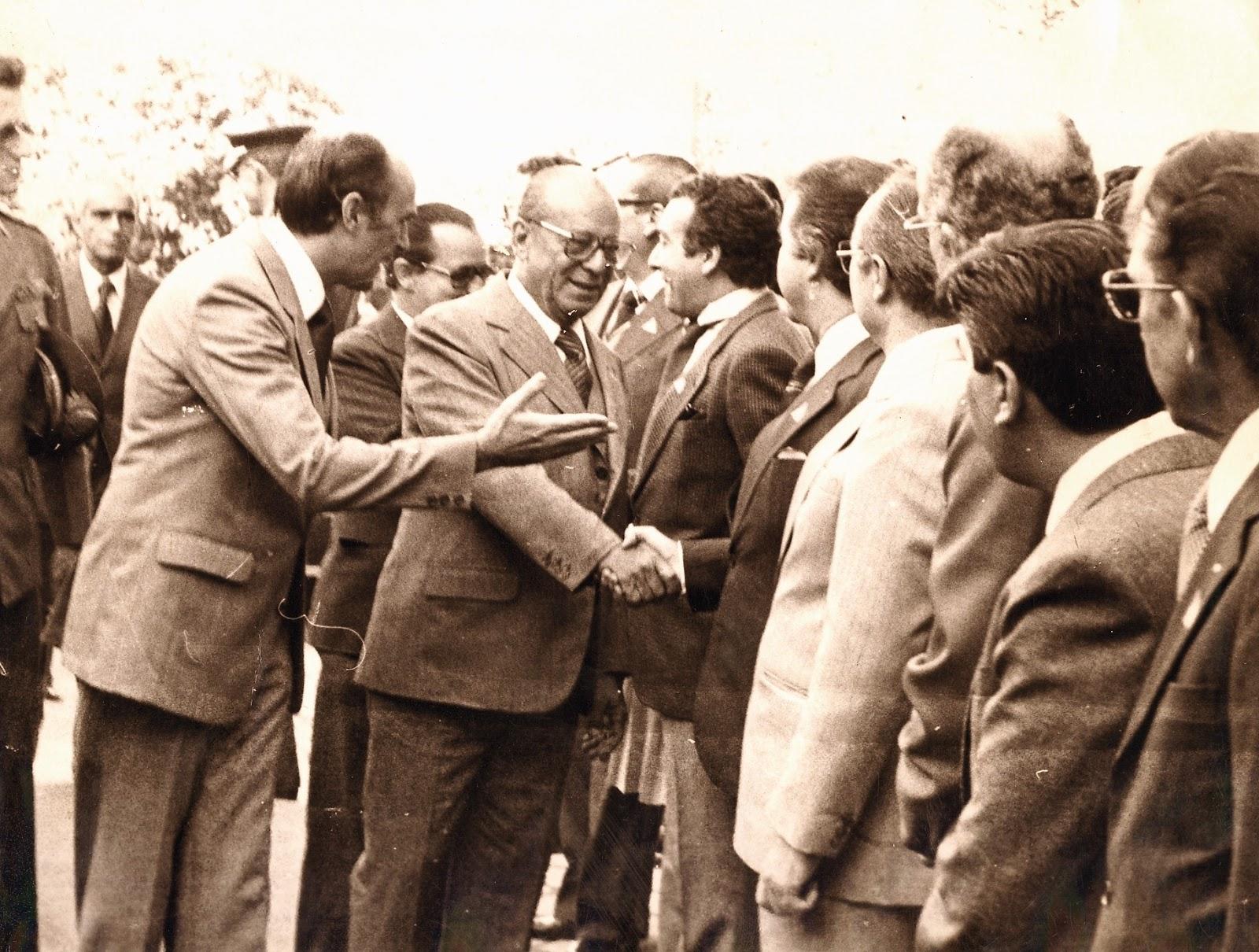 João Figueiredo visita Maringá - 1982