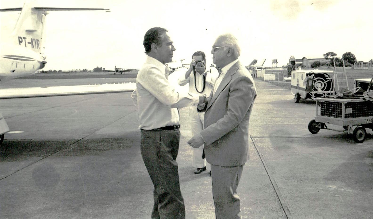 João Paulino e Ney Braga - 1981