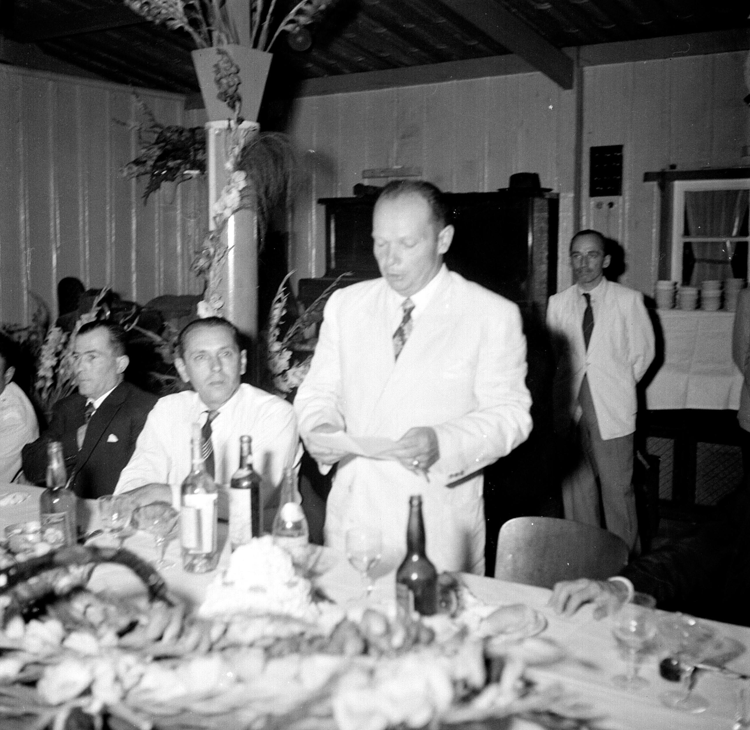 Discurso de posse do primeiro prefeito - 1952