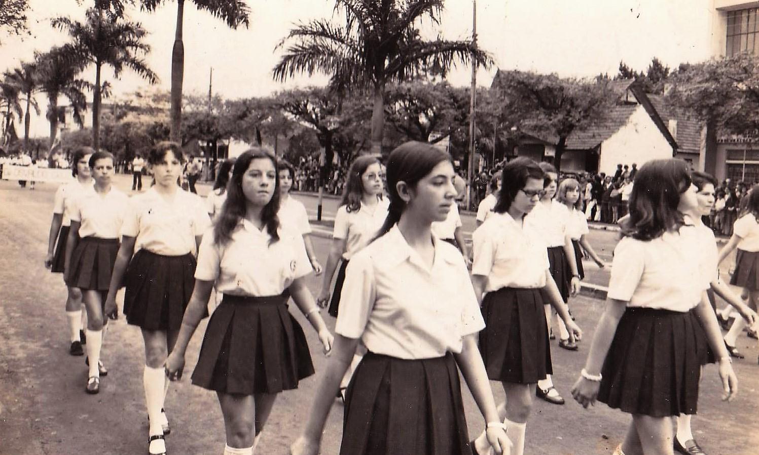Desfile de 7 de setembro - 1973