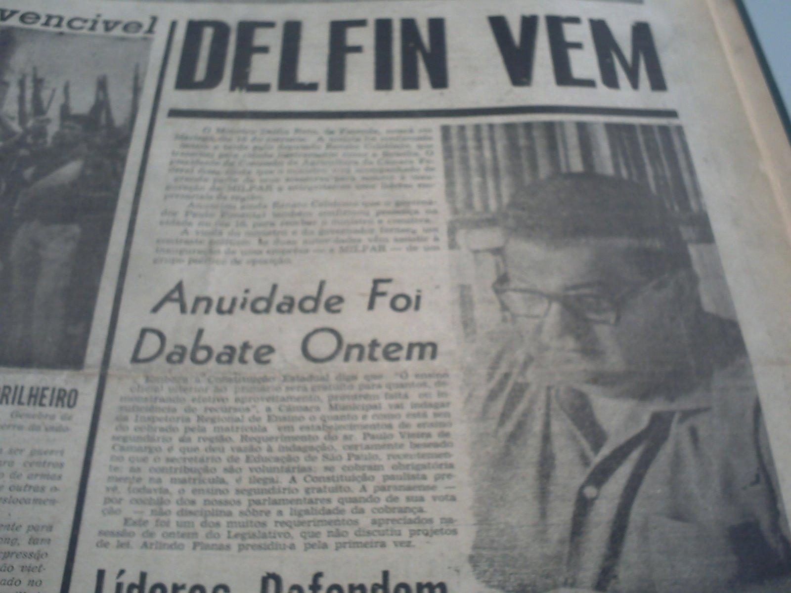 Antonio Delfim Netto em Maringá