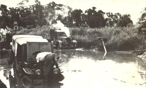 Avenida Paraná em 1947