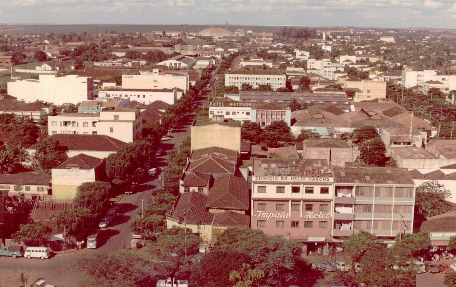 Travessa Júlio de Mesquita Filho - Início dos anos 1970