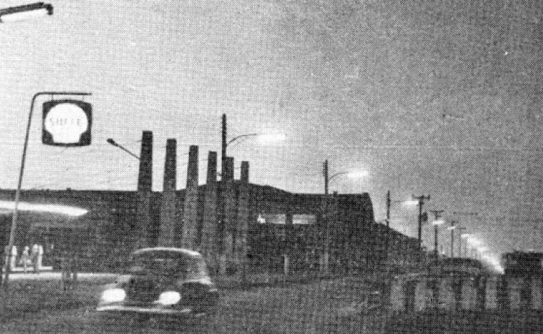 Iluminação Pública - Avenida Paraná - Década de 1960
