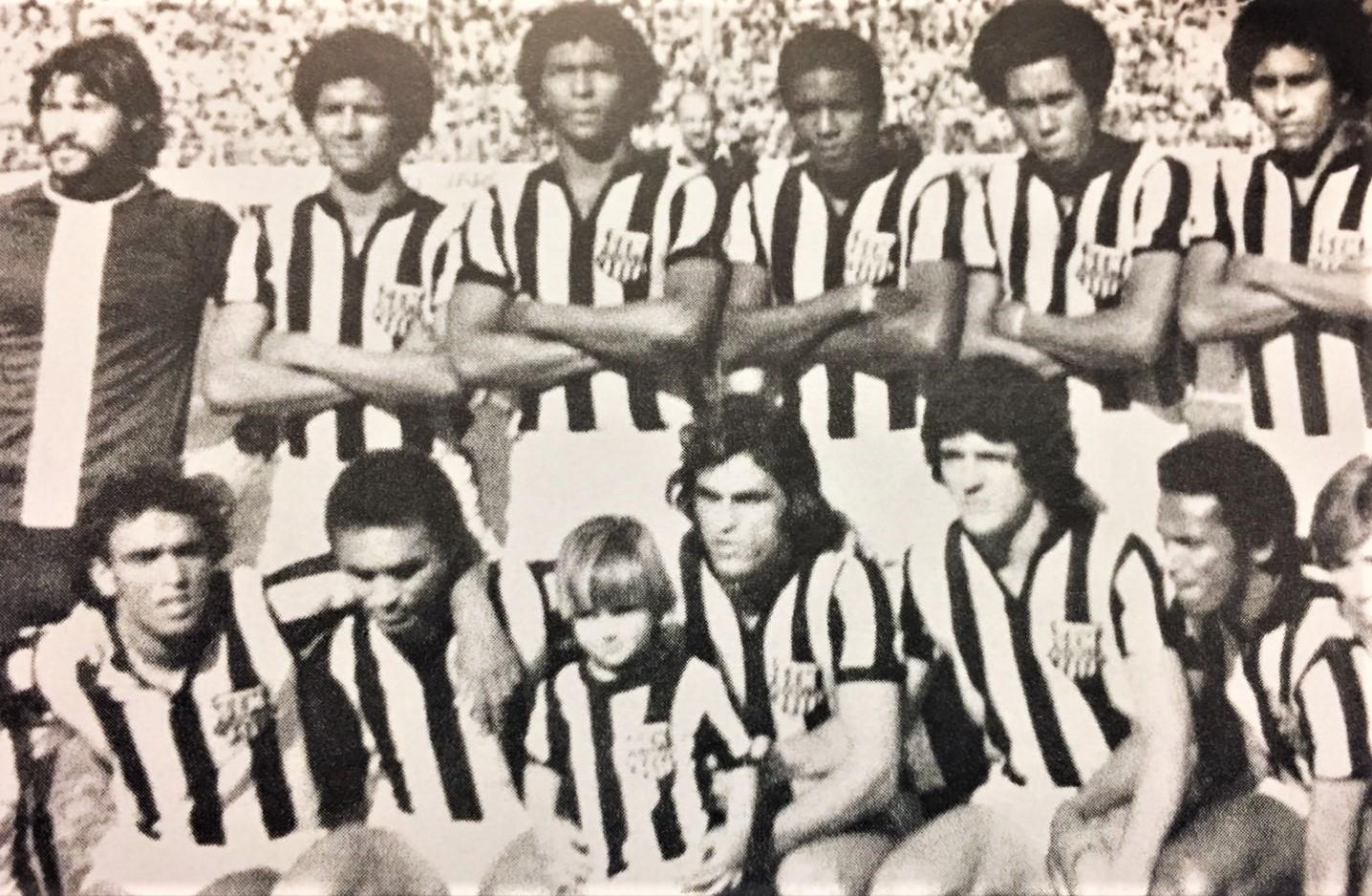 Escalação do Grêmio de Esportes Maringá - 1977