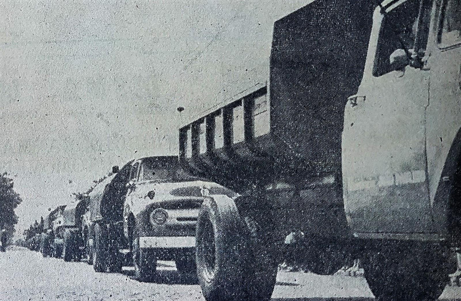 Frota da Prefeitura de Maringá - 1964