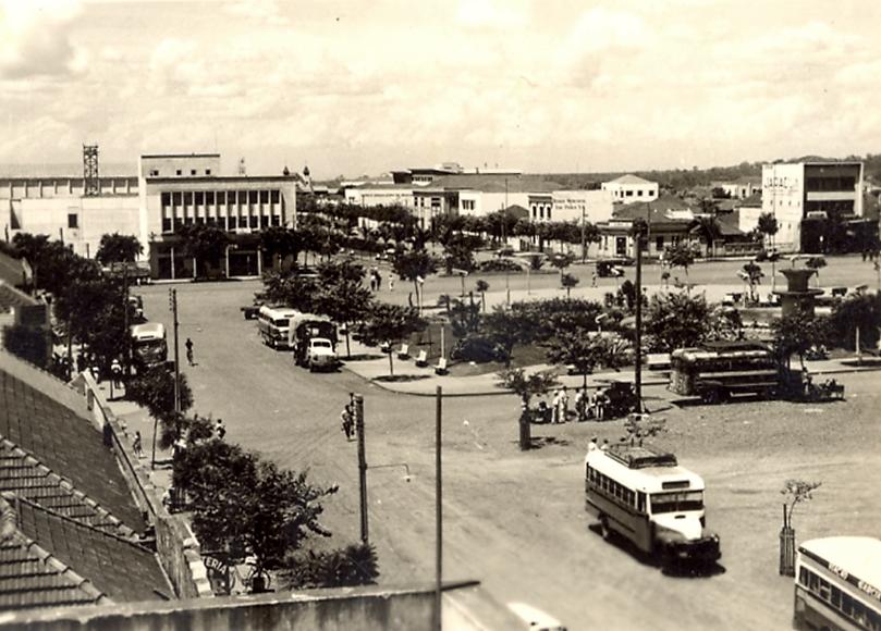 Praça Raposo Tavares - Final dos anos 1950