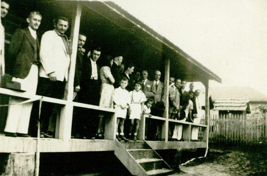 Inauguração do Hospital Santa Cruz - 1944