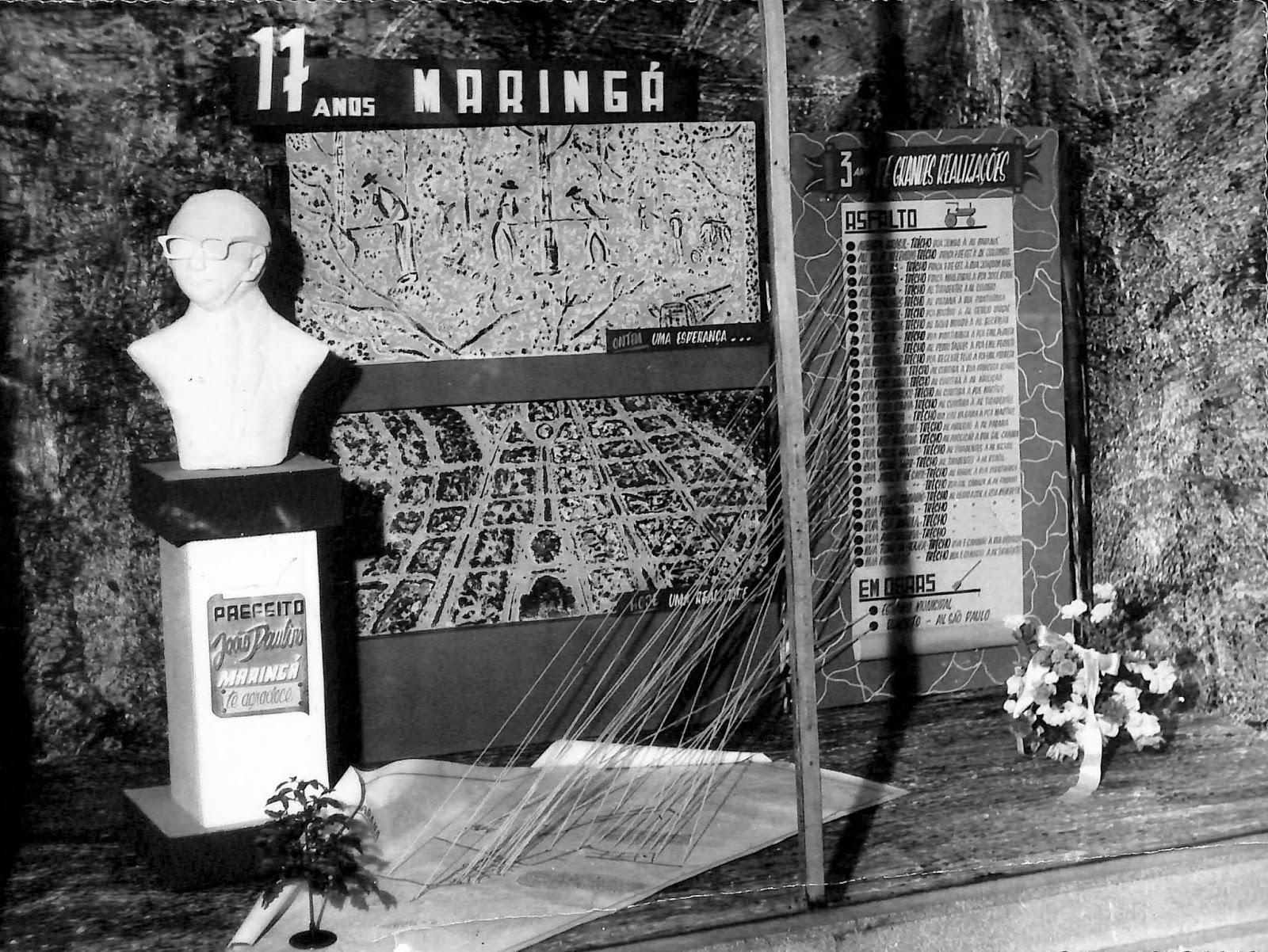 Homenagens ao 17º aniversário de Maringá - 1964