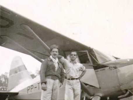Personagens - Inauguração do Campo de Pouso - 1949