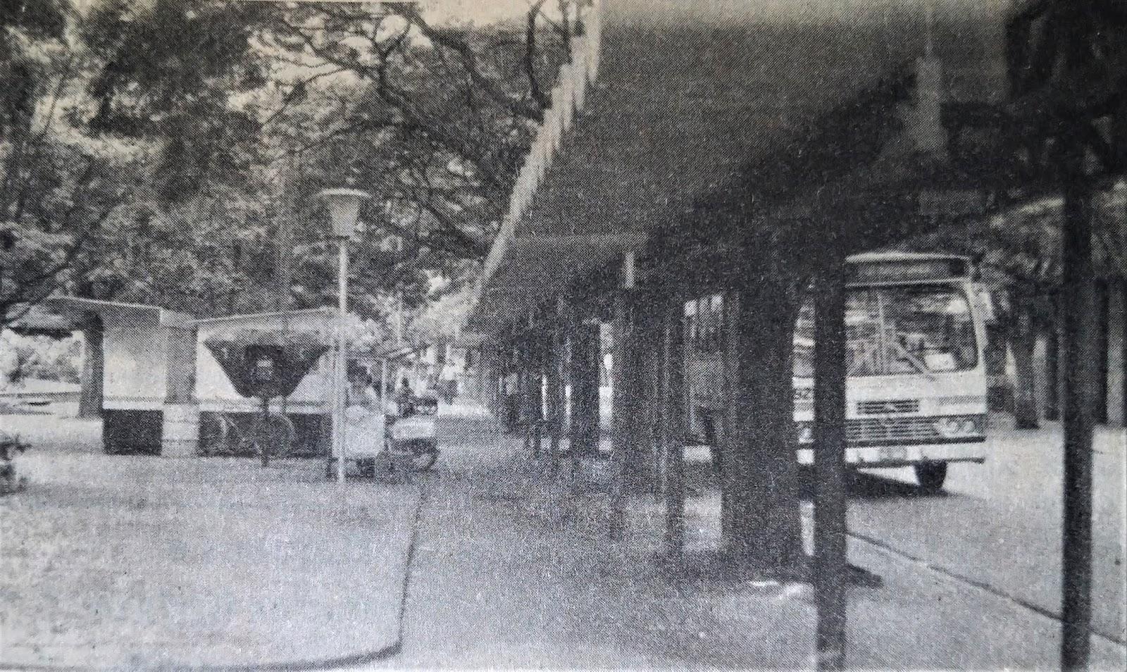 Terminal Urbano da Praça Napoleão Moreira da Silva - 1985
