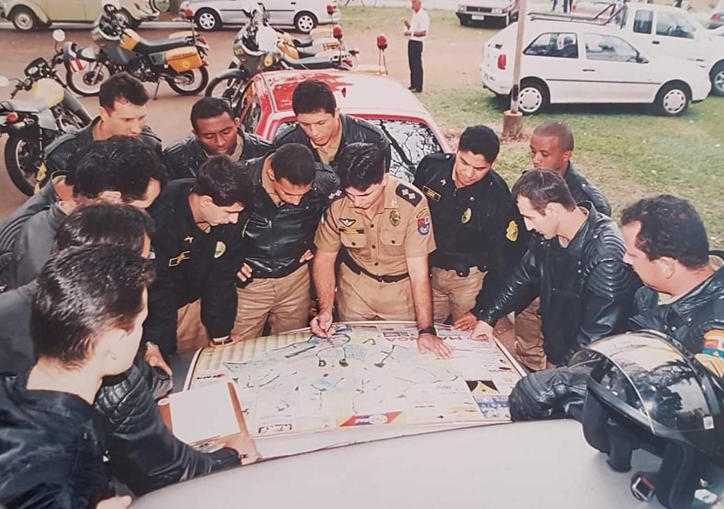 Planejamento do 4º BPM para o FHC - Agosto de 1998