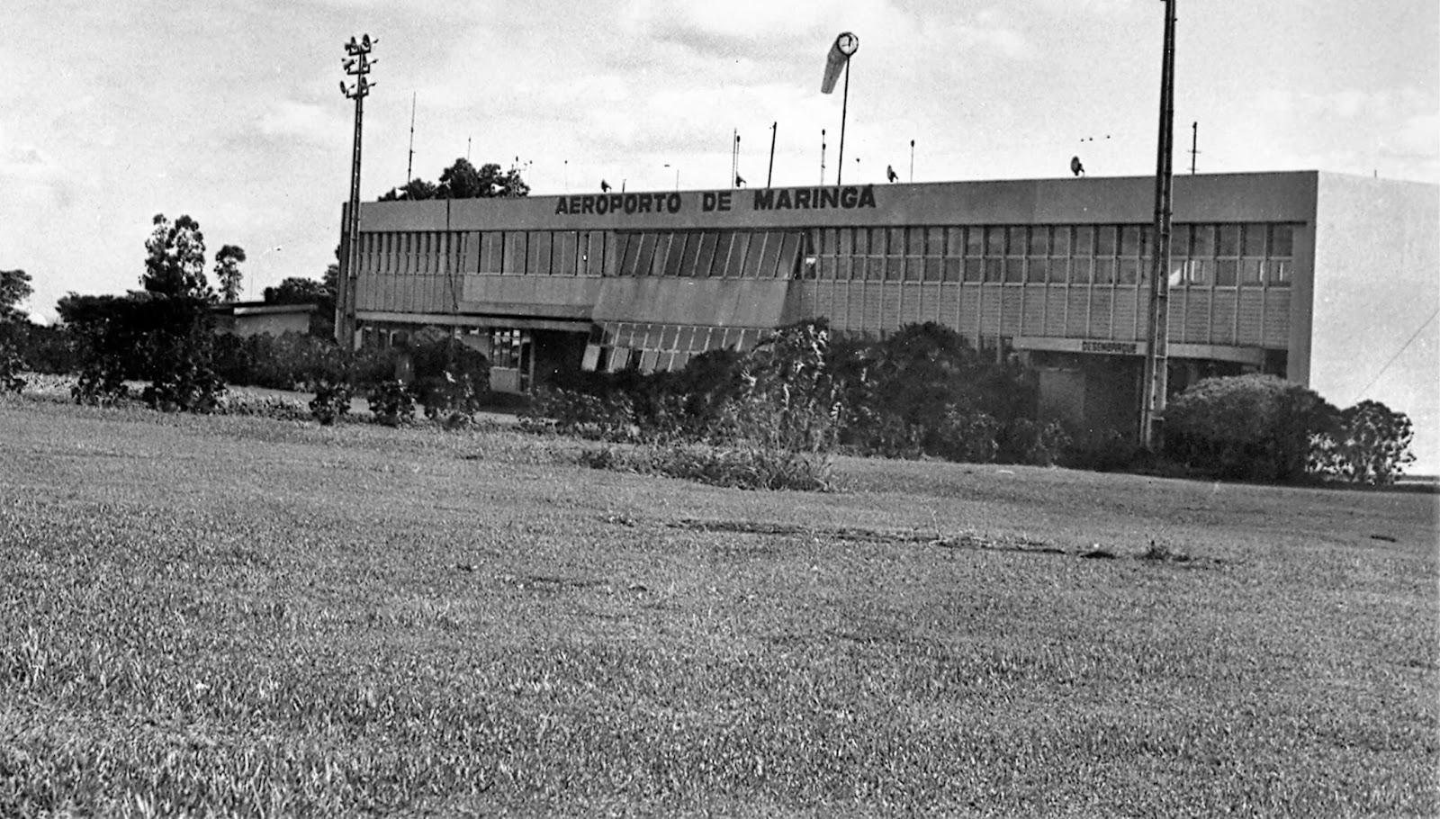 Aeroporto Regional Dr. Gastão Vidigal - Década de 1980