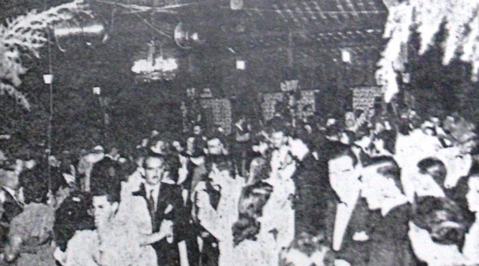 Baile de inauguração do Aeroporto de Maringá - 18/09/1949