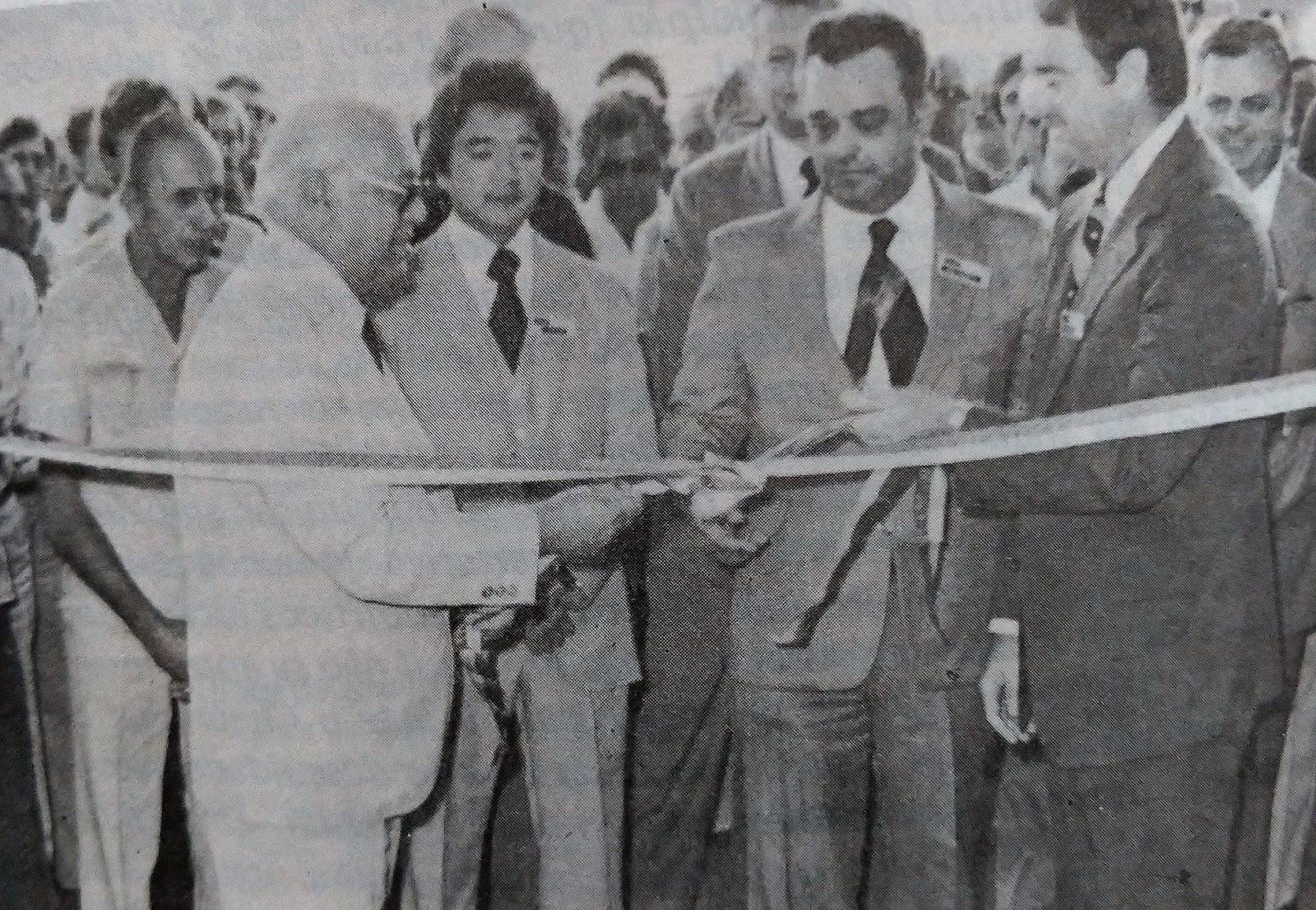 Inauguração da Cargill em Maringá - Maio de 1980