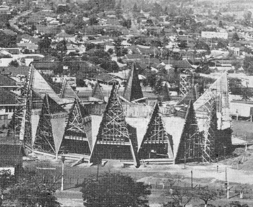 Catedral em construção - Década de 1960