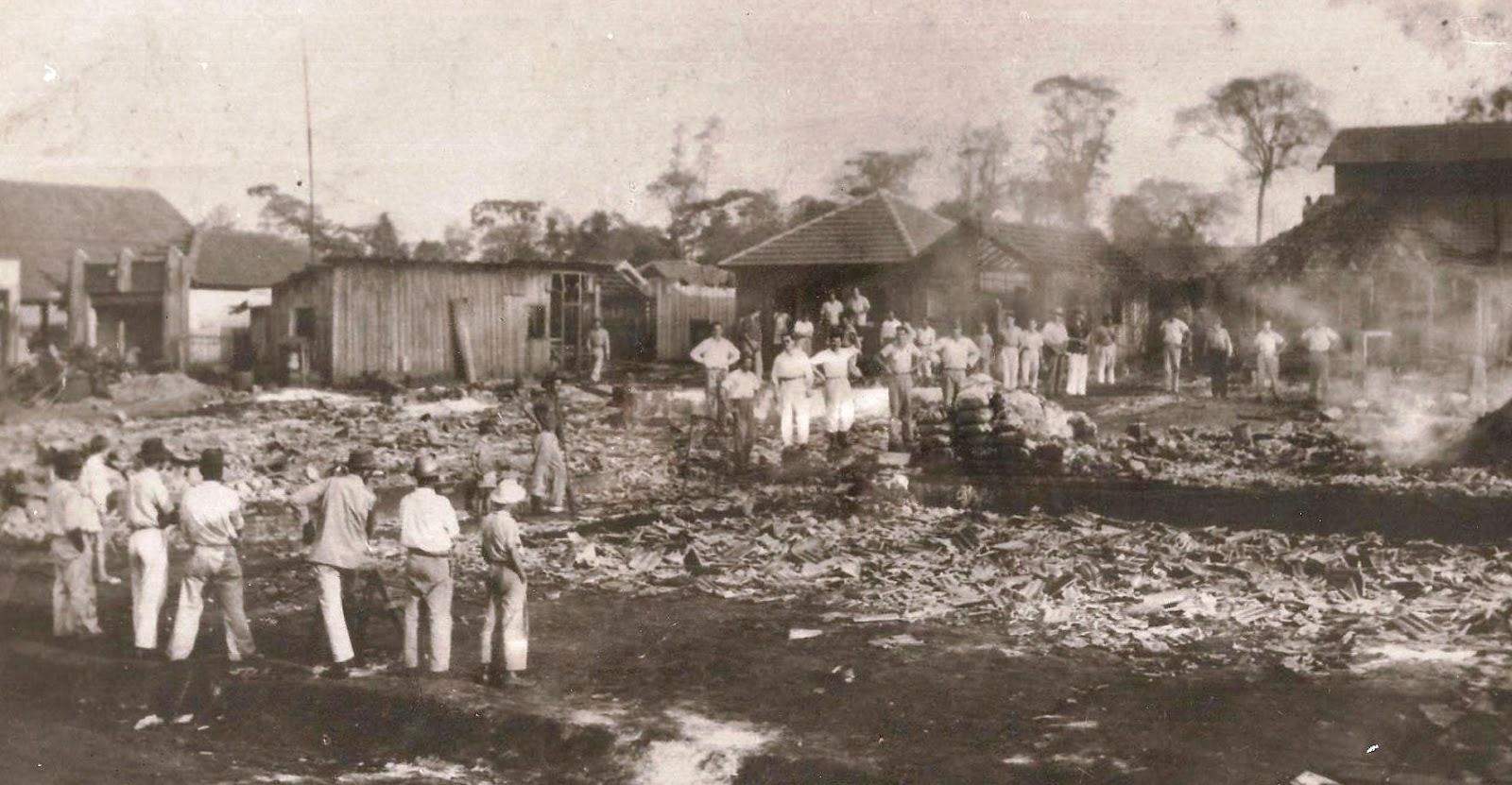 Incêndio - Cine Primor - 1949