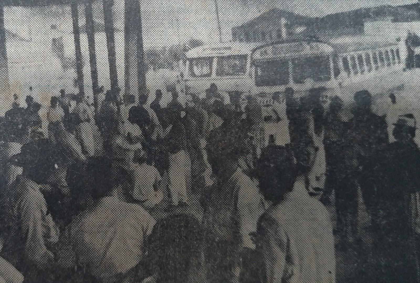 Início do funcionamento da Estação Rodoviária - Novembro de 1962