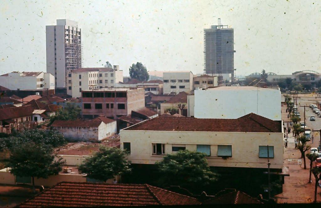 Avenida Getúlio Vargas - Alto do Edifício Maria Tereza - Década de 1960