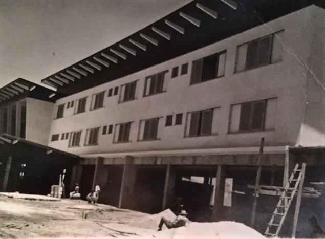 Grande Hotel Maringá em construção - Década de 1950